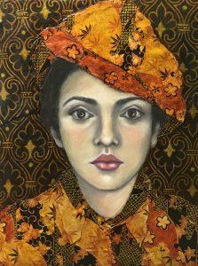 "Dawn McLaughlin • <em>Rite of Passage</em> • Pastel and dye ink • 14""×17"" • NFS"