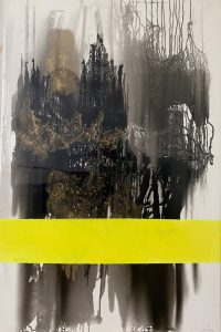 """Tany Moore • <em>Space Dust</em> • Acrylic • 40""""×60"""" • $880.00"""