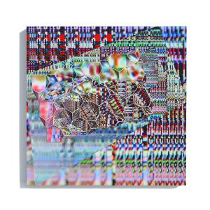 """Werner Sun • <em>Big Bang 09</em> • Archival inkjet prints and acrylic on board • 8""""×8""""×1½"""" • $150.00<a class=""""purchase"""" href=""""https://state-of-the-art-gallery.square.site/product/werner-sun-big-bang-09/371"""" target=""""_blank"""">Buy</a>"""
