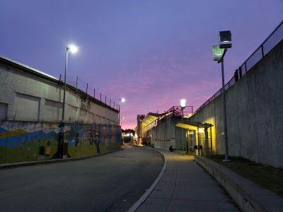 "Timothy Nelson-Hoy • <em>Fields Corner Station, Dorchester, MA</em> • Digital photograph • 17""×13"" • $100.00"
