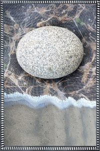"Robin Botie • <em>Rock Moon</em> • 12""×18"" • NFS<a class=""purchase"" href=""mailto:moonbeckon@hotmail.com?subject=Inquiry about Rock Moon"" target=""_blank"">Contact</a>"