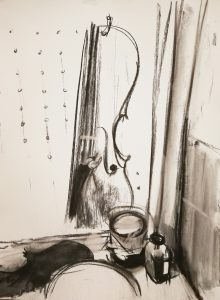 """<div style=""""pointer-events: none"""">Irina Kassabova • <em>Varnish</em> • Charcoal • $450.00<a class=""""purchase"""" href=""""https://state-of-the-art-gallery.square.site/product/irina-kassabova-varnish/621"""" target=""""_blank"""">Buy</a></div>"""