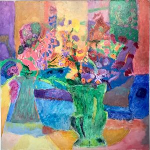 """Vincent Joseph • <em>The Green Vase</em> • Acrylic • 24""""×24"""" • $300.00<a class=""""purchase"""" href=""""https://state-of-the-art-gallery.square.site/product/vincent-joseph-the-green-vase/676"""" target=""""_blank"""">Buy</a>"""