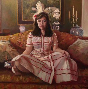 """Jonathan MacGregor • <em>Sunday's Best</em> • Oil on canvas • 36""""×36"""" • $4,500.00"""