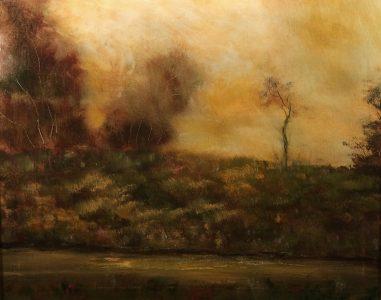 "Bill McLaughlin • <em>At Close of Day</em> • Oil on canvas • 20""×16"" • $500.00"