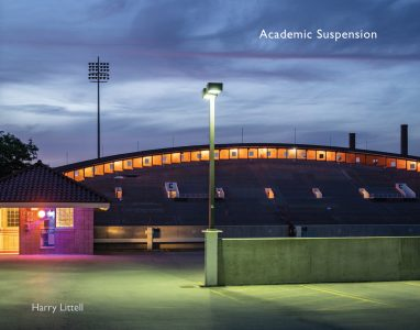 """Harry Littell • <em>Academic Suspension</em> • Book • 14""""×11"""" • $39.95<a class=""""purchase"""" href=""""https://www.magcloud.com/browse/issue/1840539"""" target=""""_blank"""">Buy</a>"""