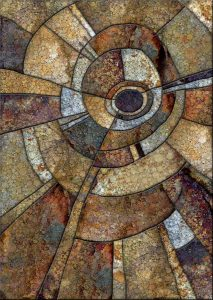 """Daniel McPheeters • <em>Bontecou Inclusion</em> • Mixed media on panel • 17""""×24"""" • $200.00<a class=""""purchase"""" href=""""https://state-of-the-art-gallery.square.site/product/daniel-mcpheeters-bontecou-inclusion/335"""" target=""""_blank"""">Buy</a>"""