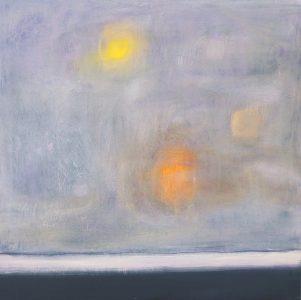 "Ethel Vrana • <em>Landscape</em> • Oil on canvas • 24""×24"" • $640.00<a class=""purchase"" href=""https://state-of-the-art-gallery.square.site/product/ethel-vrana-landscape/515"" target=""_blank"">Buy</a>"