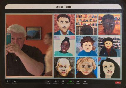 "Don Ellis • <em>zoo 'em</em> • Multi-media print • 20""×14"" • $385.00<a class=""purchase"" href=""https://state-of-the-art-gallery.square.site/product/don-ellis-zoo-em/619"" target=""_blank"">Buy</a>"