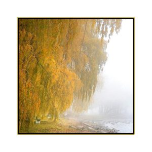 """David Watkins Jr • <em>Willows in the Mist No.2</em> • Archival pigment on canvas • 30""""×30"""" • $425.00<a class=""""purchase"""" href=""""https://state-of-the-art-gallery.square.site/product/david-watkins-jr-willows-in-the-mist-no-2/617"""" target=""""_blank"""">Buy</a>"""